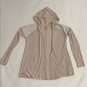 Abercrombie kids hooded cardigan size 13/14